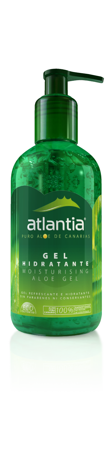 Atlantia UK Aloe Vera MOISTURISING ALOE GREEN GEL WEB