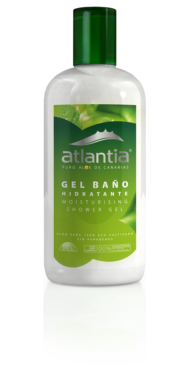 Atlantia UK Aloe Vera MOISTURISING SHOWER GEL WEB