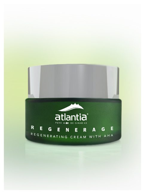 Atlantia UK Aloe Vera REGENERAGE Regenerating cream with AHA 2
