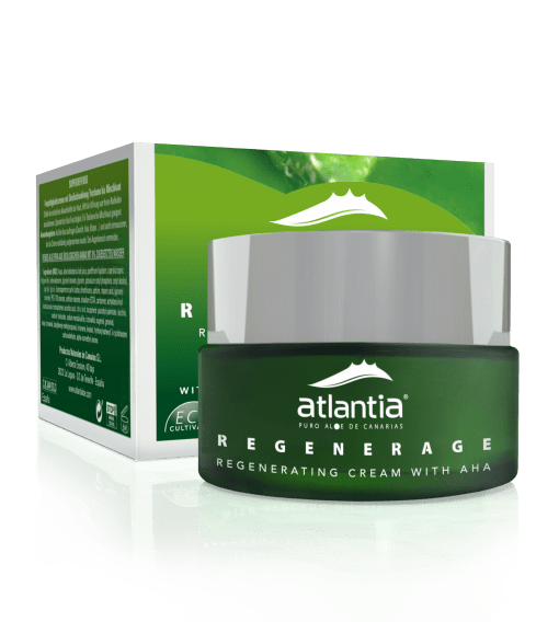 Atlantia UK Aloe Vera REGENERAGE Regenerating cream with AHA WEB