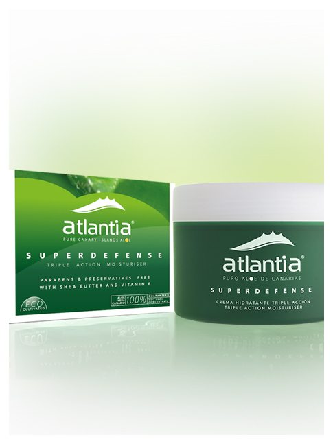 Atlantia Aloe Vera SUPERDEFENSE Triple action Moisturising cream 2