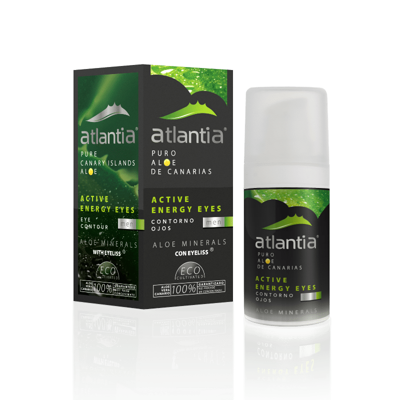 Atlantia Aloe Vera MEN's Active Energy Eye Contour