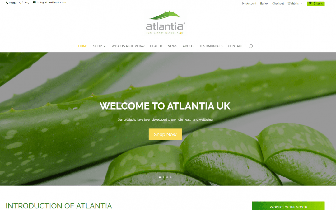 Welcome to Atlantia UK's New Website