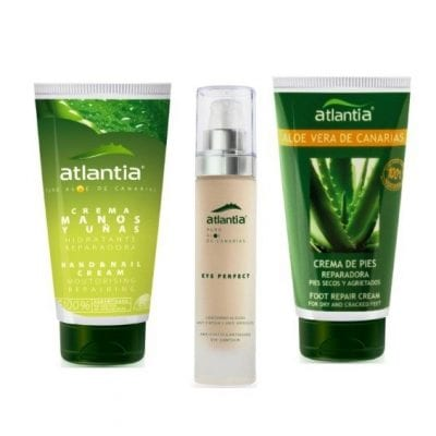 Aloe Vera Hand, Eye and Foot Cream Pack