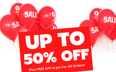 January Sale Extended – Plus get a free gift!