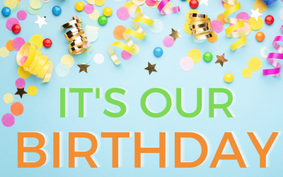 Come and celebrate our birthday!